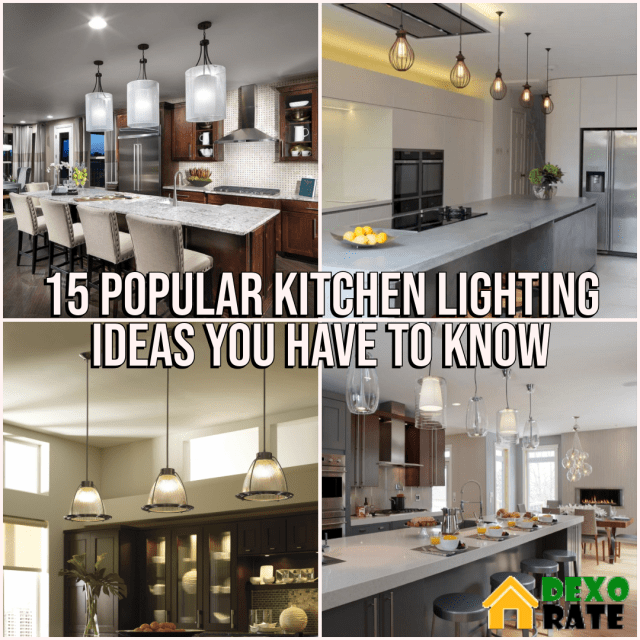 Kitchen Lighting Ideas You Have To Know