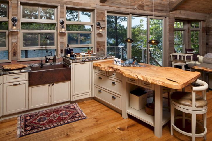Wood Kitchen Countertops Idea