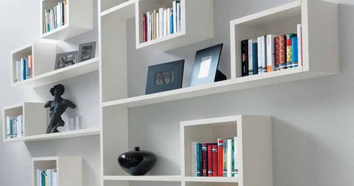Awesome DIY Bookshelf Design