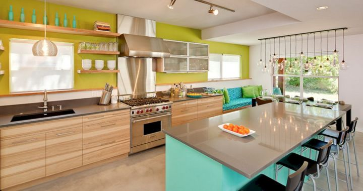 Best Colorful Kitchen Island