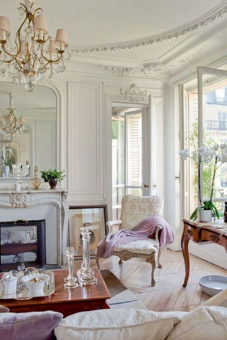 French Living Room Design ideas