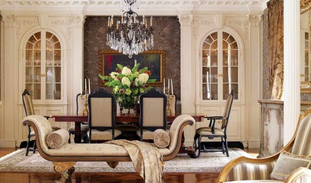 French Living Room Design