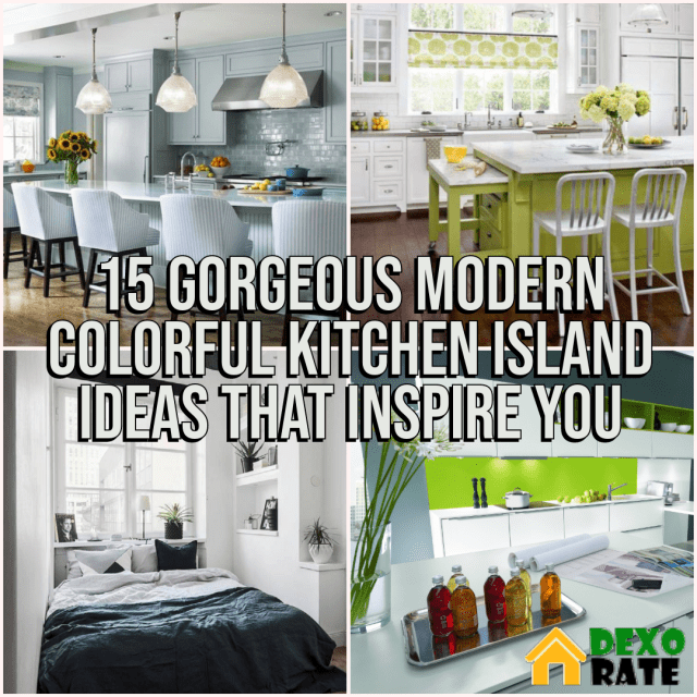 Modern Colorful Kitchen Island Ideas That Inspire You