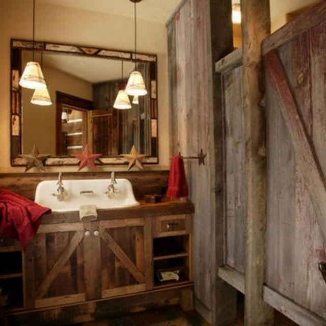 Awesome Rustic Small Bathroom Ideas