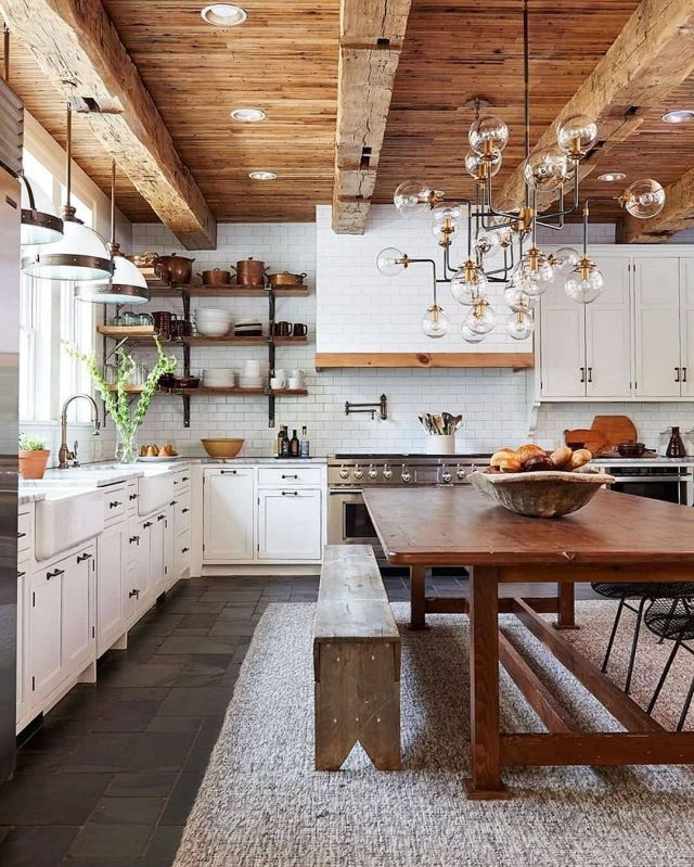 Awesome Wooden Kitchen Design