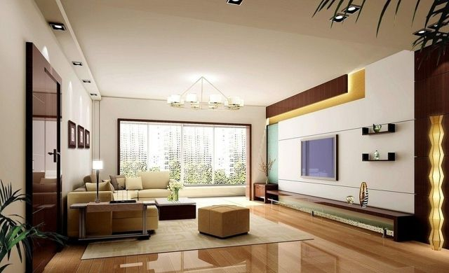 Best Living Room Wall TV Design
