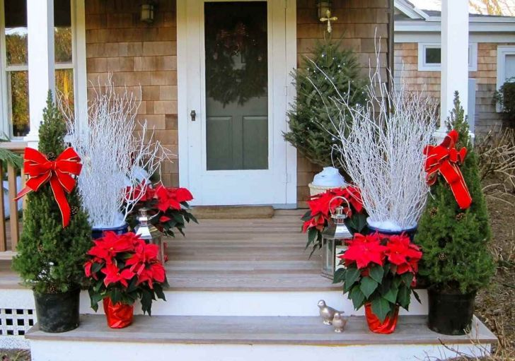 15 Beautiful Outdoor Christmas Decoration Ideas For Prepare ...