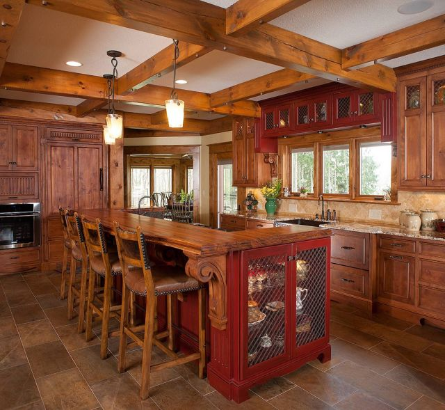 Wooden Kitchen Design Ideas