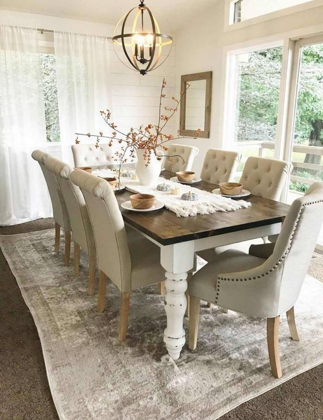 15 Extraordinary Farmhouse Dining Table Ideas You Must Have Dexorate