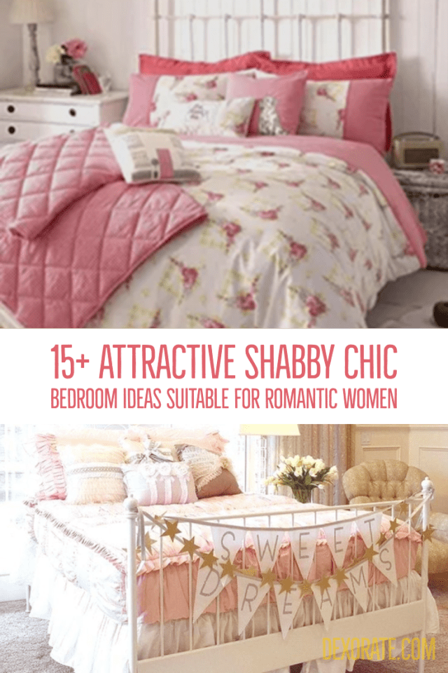 Attractive Shabby Chic Bedroom Ideas Suitable For Romantic Women