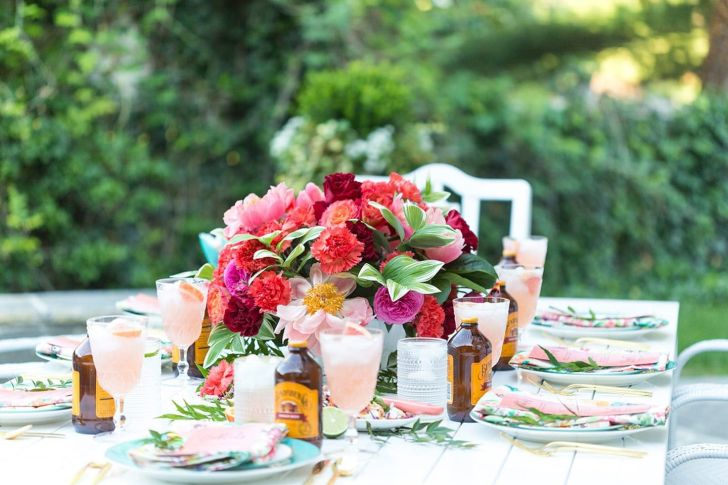 Charming Backyard Summer Party