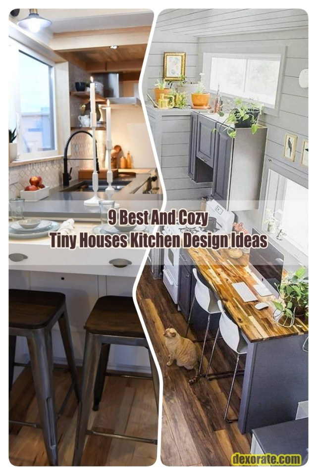Cozy Tiny Houses Kitchen Design Ideas