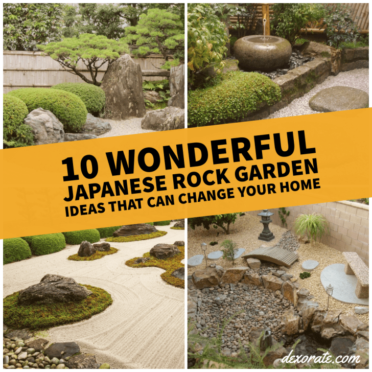 10 Wonderful Japanese Rock Garden Ideas That Can Change Your