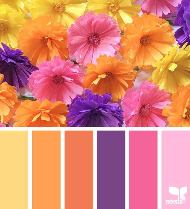 Pretty Summer Color Combinations