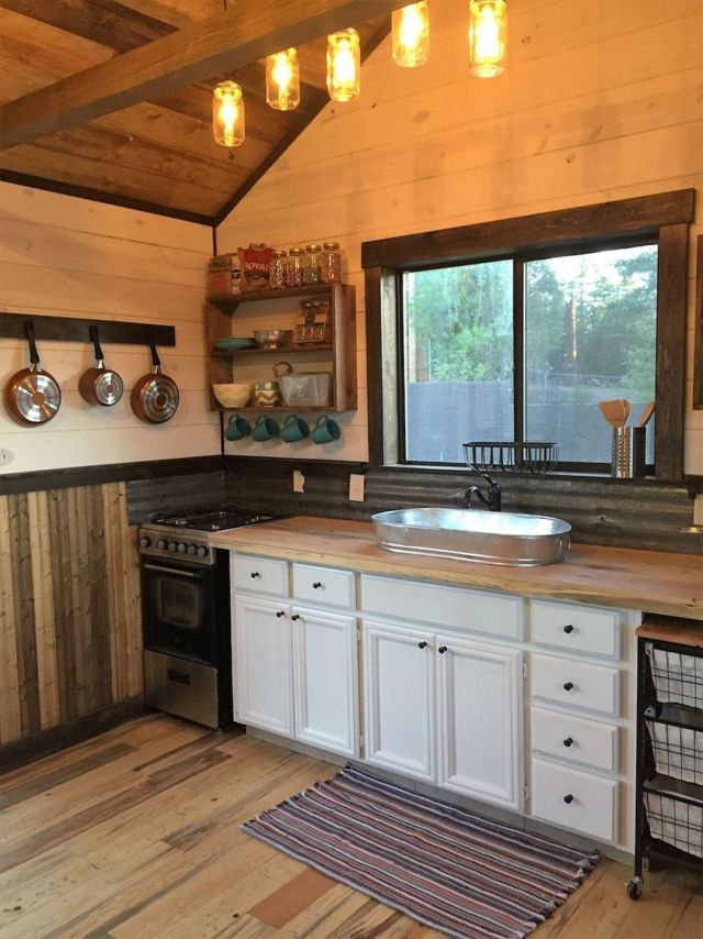 Silver Creek Tiny House Kitchen Design