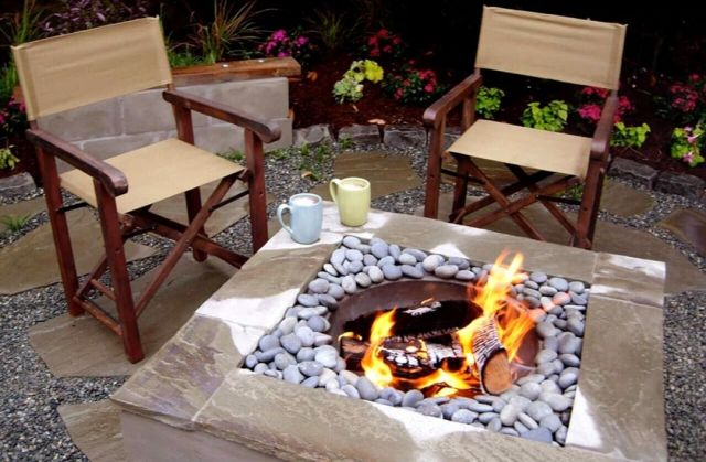 Small Spaces Backyard Fire Pit Designs