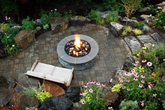 Warm And Useful Outdoor Fire Pits