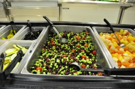 Michigan Calico Bean salad at Wylie Elementary.