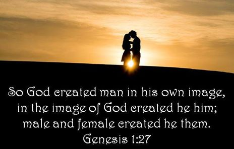 Genesis 1:27 God Created in His own image