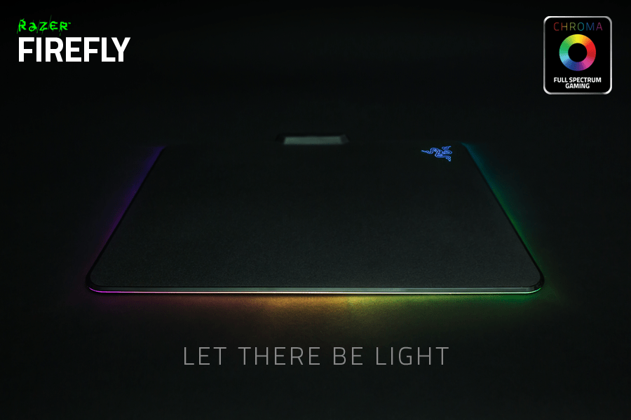 Razer Firefly RGB Gaming Mousepad DEXTmall