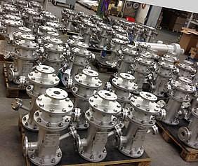 70 minifilters geleverd aan klanten in de chemische industrie