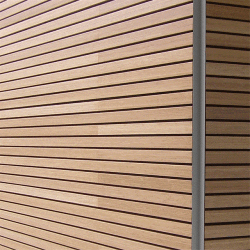 Slotwood Wall acoustic wooden panel