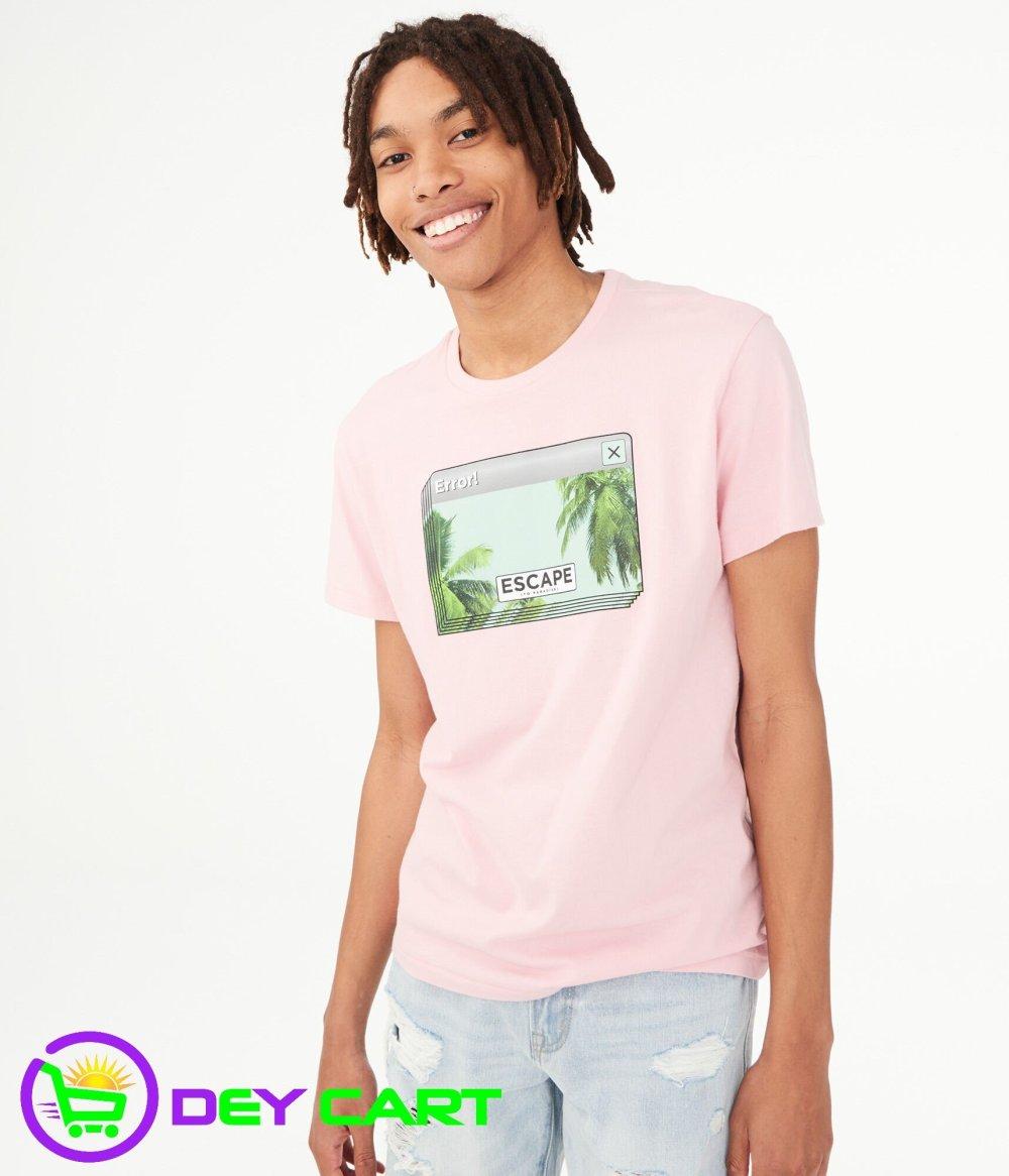 Aeropostale Escape Graphic Tee - Pink 0