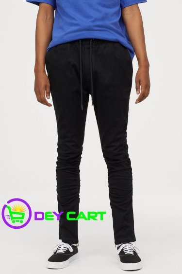 H&M Joggers with Zips - Black 0
