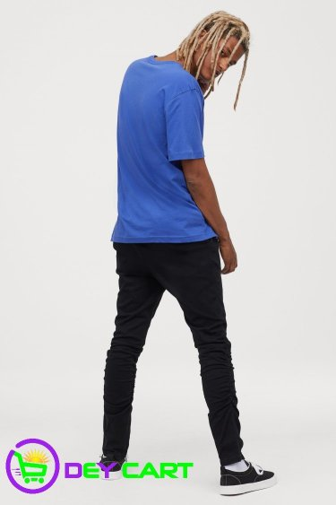 H&M Joggers with Zips - Black 1
