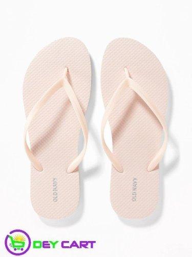 Old Navy Flip-Flops - Women - Blush 0