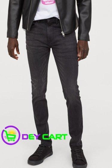 H&M Lyocell Skinny Jeans - Black 0