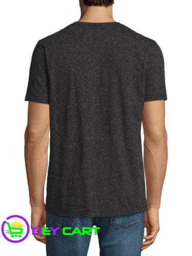 Arizona Short Sleeve Henley Shirt - Dark Grey 1
