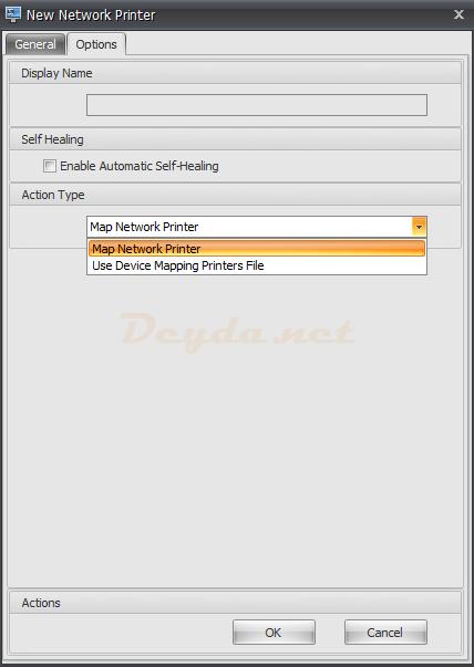 Network Printer Options