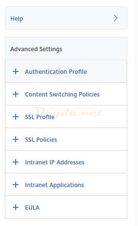 NetScaler Gateway Virtual Servers Basic Authentication Advanced Authentication SAML IDP Policy Authentication Profile