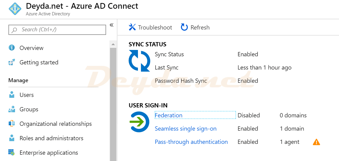 Activation of Azure AD Seamless Single Sign-On – Deyda net
