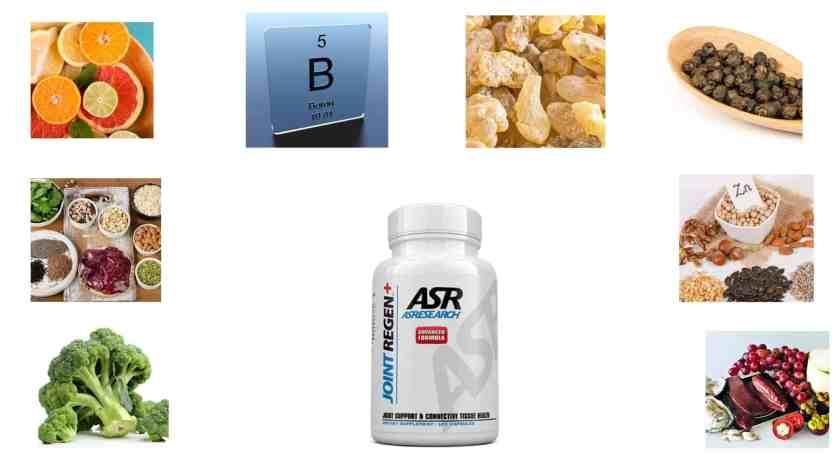 ASR Joint Regen ingredients