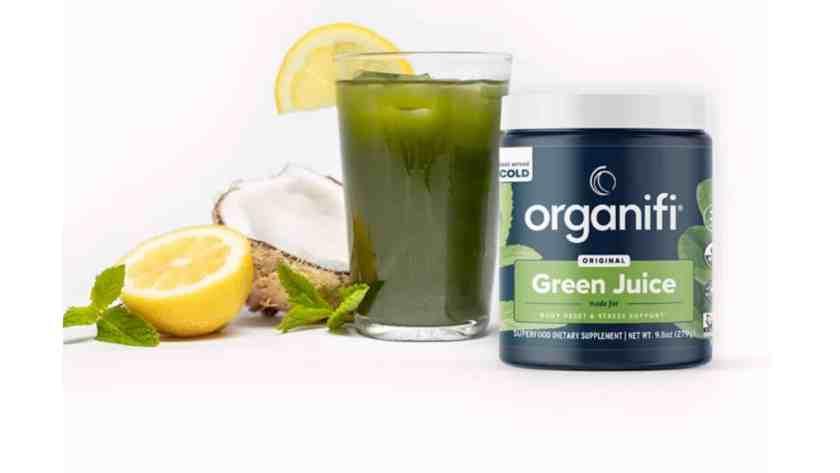 Organifi Green Juice energy booster