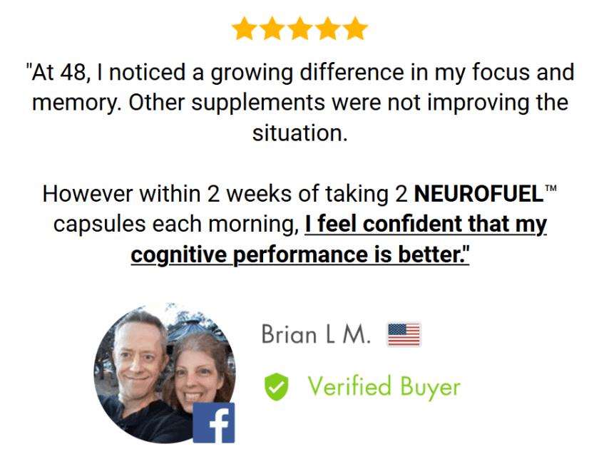 NeuroFuel customer reviews 2020