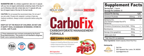 CarboFix dosage