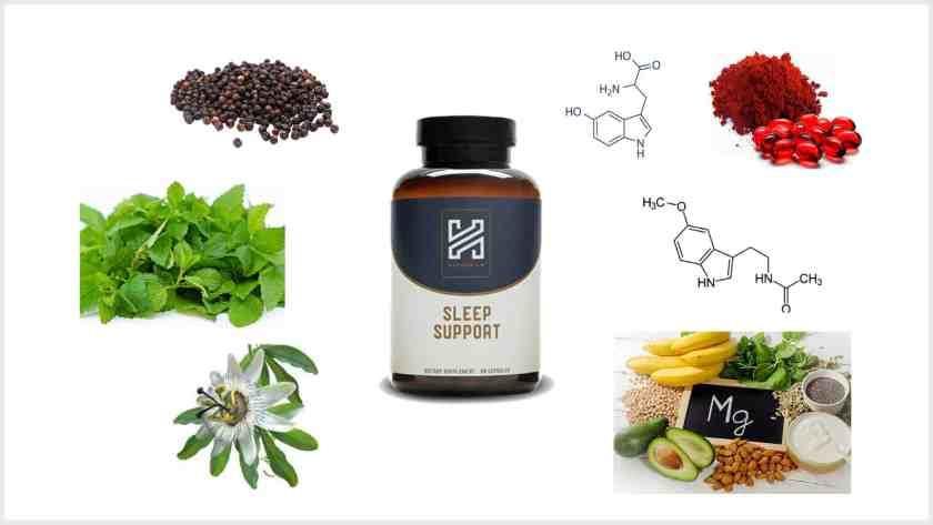 Harmonium Sleep Support review-Ingredients