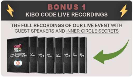 Kibo Code Live Recordings