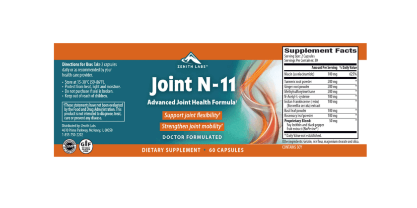 Joint N-11 Dosage