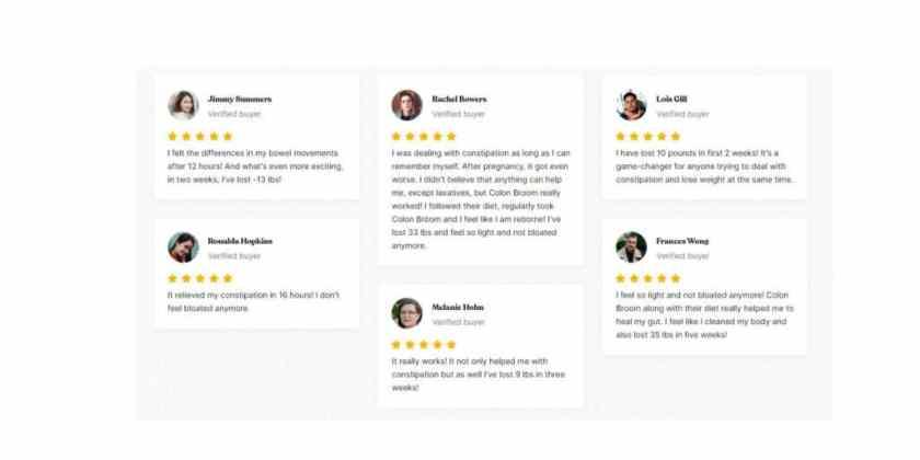 colon broom customer reviews
