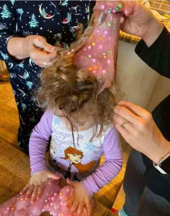How To Get Slime Out Of Hair?
