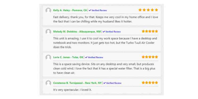 Breeze Max Customer reviews
