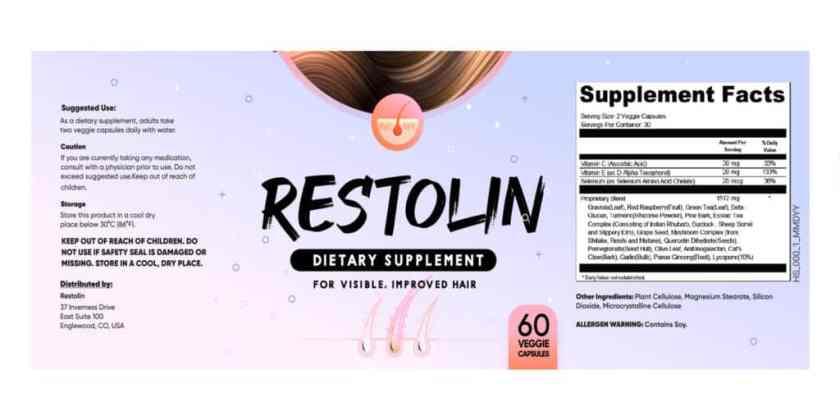Restolin Dosage