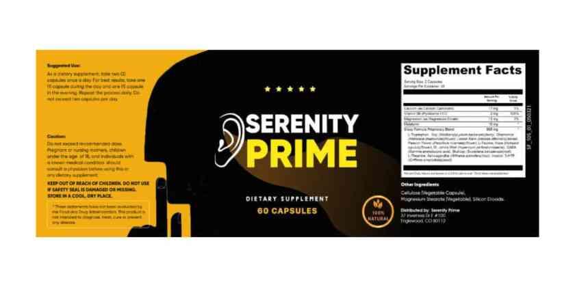 Serenity Prime Dosage