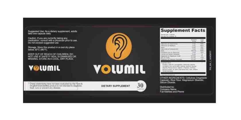 Volumil supplement dosage