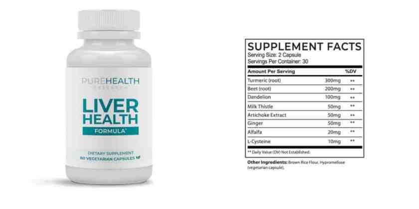 Liver Health Formula Dosage