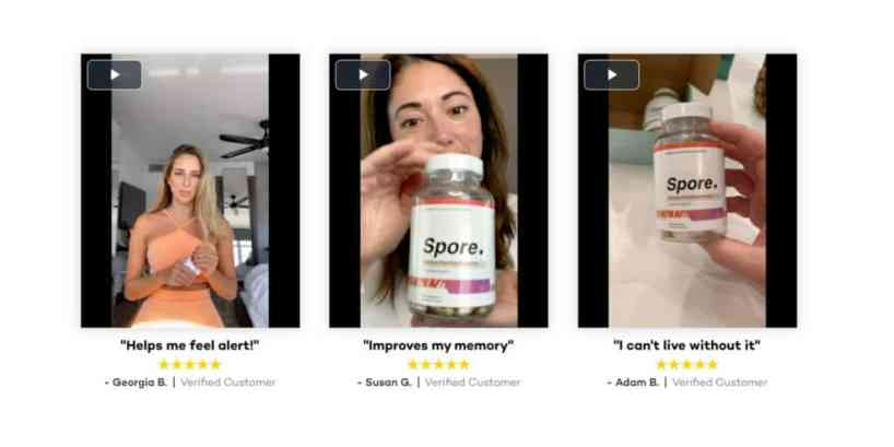 Spore Focus Performance customer reviews